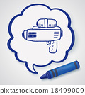 water gun doodle 18499009