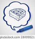 waffle doodle 18499021
