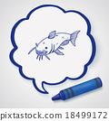 Catfish doodle 18499172