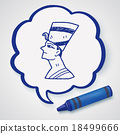 pharaoh doodle 18499666