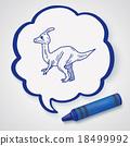 dinosaur doodle 18499992