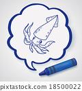 Squid doodle 18500022