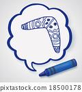 boomerang doodle doodle 18500178