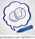 tennis doodle 18500373
