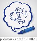 dragon doodle 18500873