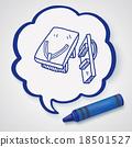 Clogs Shoe doodle 18501527