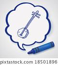 Banjo doodle 18501896