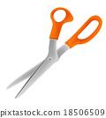 scissors vector 18506509