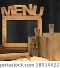 Blackboard Menu in the Kitchen 18514422