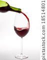 Red wine pouring 18514801