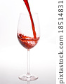 Red wine pouring 18514831