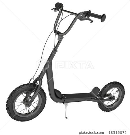 Black Kick scooter 18516072
