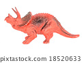 Triceratops dinosaurs toy. 18520633