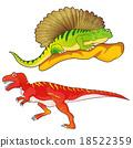 allosaurus-edaphosaurus 18522359