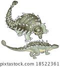 ankylosaurus 18522361