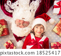 Santa Claus and child 18525417