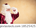 Santa Claus looking ahead 18525425