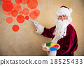 Santa Claus painter 18525433