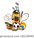 Sport equipment  collection 18528680