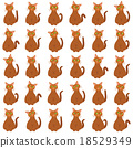 cats seamless pattern 18529349