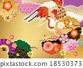 日式 日式圖案 起重機 18530373