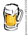 啤酒 淡啤酒 數字動畫 18532250