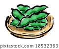 毛豆 綠大豆 原料 18532393