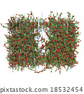 Large shrub roses pergola 18532454