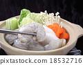 煮河豚 平底鍋 鍋 18532716