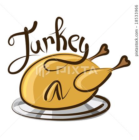 Vector Turkey 18533966
