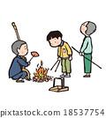 插圖 插畫 燃燒 18537754