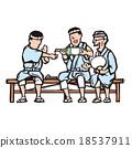 矢量 器具 木刻版畫 18537911