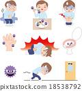 벡터, 전염병, 감염병 18538792