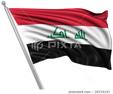 Flag of Iraq 18539191