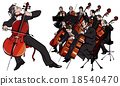 classical orchestra 18540470