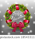 Christmas wreath 18543311