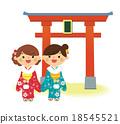 woman, kimono, sidekick 18545521