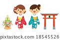 woman, kimono, new 18545526