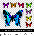 butterfly vector background 18550072