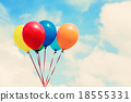 Colorful balloons 18555331