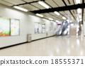 Subway station blur background 18555371
