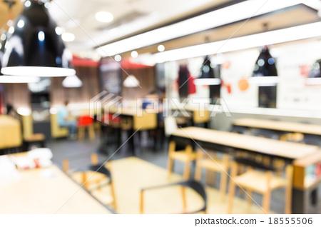 Blur view of restaurant background 18555506