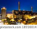 Cement factory at Hong Kong 18556014