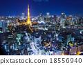 Tokyo, Japan cityscape 18556940
