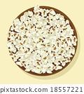 Bowl of popcorn 18557221