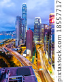 Hong Kong at night 18557717