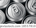 Fresh cold cans of soft drink 18557810