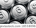 Aluminum drinks can 18558096