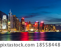 Hong Kong night view 18558448