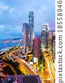 Hong Kong at night 18558946